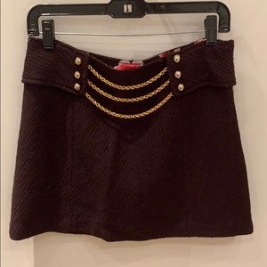 Milly Mini Skirt, Size 6